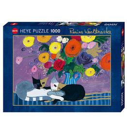 Heye Puzzle 1000mcx, Sleep Well, Watchmeister