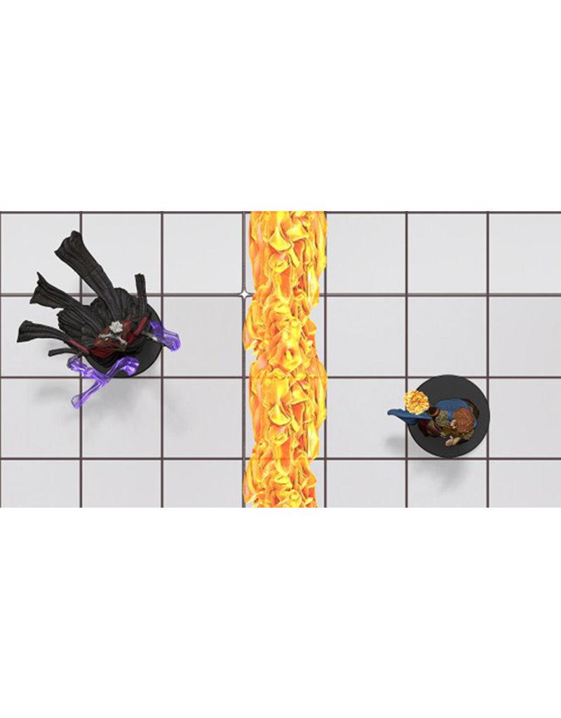 Wizkids D&D Spell Effect: Wall of Fire & Wall of Ice (EN)