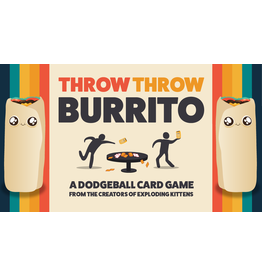 Exploding Kittens Throw Throw Burrito - A Dodgeball card game(EN)