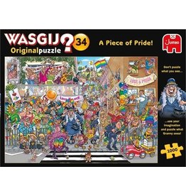 Wasgij Puzzle 1000mcx, W.Orig.#34,parade de la fierte