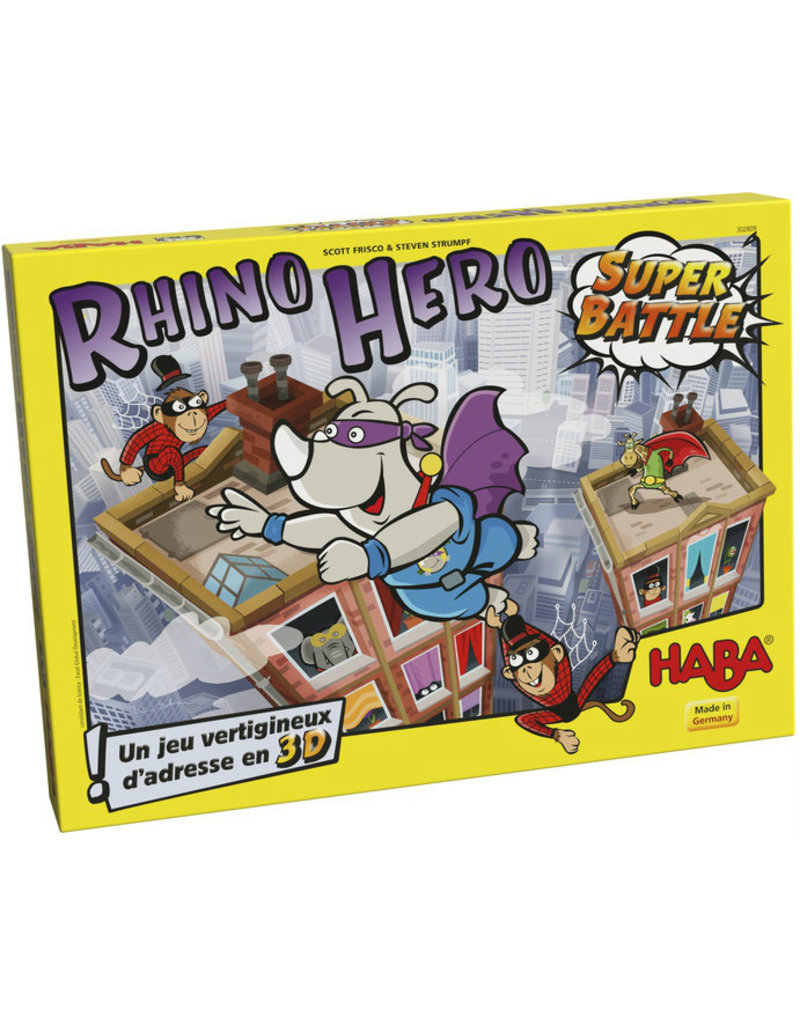 Rhino Hero: Super Battle (FR/EN)