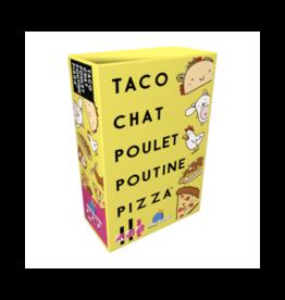 Blue Orange Taco, Chat, Poulet, Poutine, Pizza (FR)