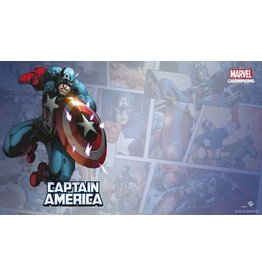 Fantasy Flight Games Marvel Champion LCG: Captain America Game Mat