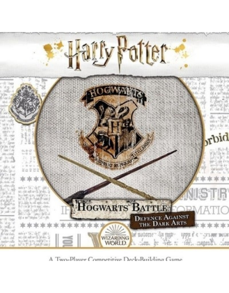 USAOPOLY Harry Potter Hogwarts Battle: Defence Against the Dark Arts (FR)