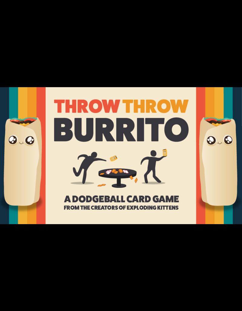 Exploding Kittens Throw Throw Burrito (FR) PRECOMMANDE