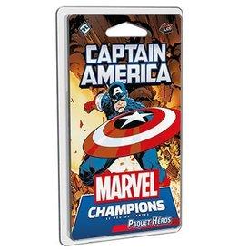 Fantasy Flight Games Marvel Champions - Le Jeu de cartes - Captain America (FR)