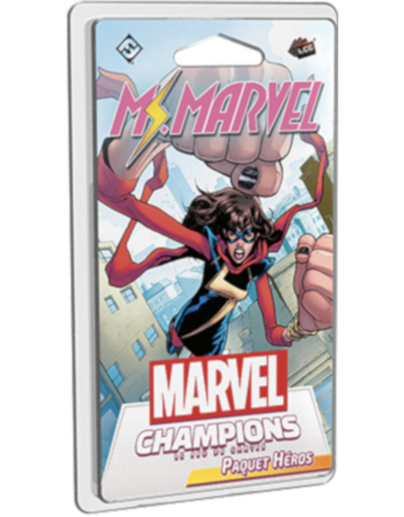 Fantasy Flight Games Marvel Champions - LCG - Ms. Marvel (FR)