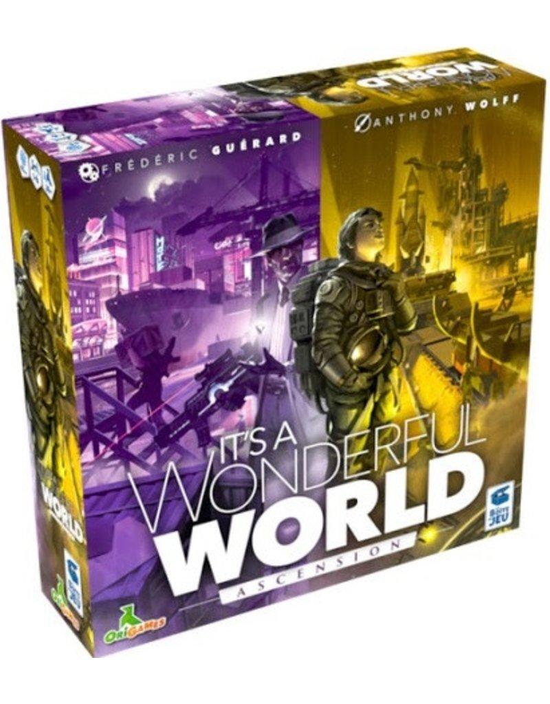 La Boîte de Jeu It's a Wonderful World: Corruption et Ascension (FR) PRECOMMANDE