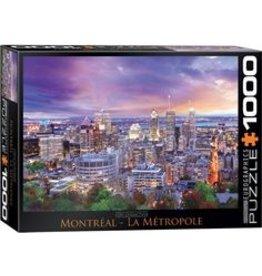 Eurographics Puzzle 1000mcx, Montreal La Metropole