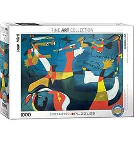 Eurographics Puzzle 1000mcx,  Swallow Love by Joan Miró