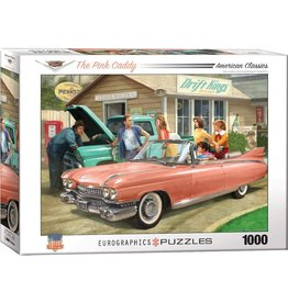 Eurographics Puzzle 1000mcx, The Pink Caddy