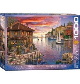 Eurographics Puzzle 1000mcx, Mediterranean Harbor