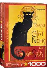 Eurographics Puzzle 1000mcx, Black Cat by T.A. Steinlen