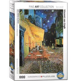 Eurographics Puzzle 1000mcx,  Café Terrace at Night