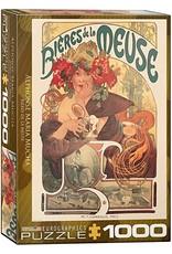Eurographics Puzzle 1000mcx, Bières de la Meuse
