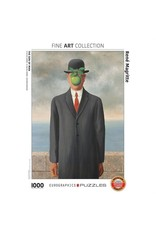 Eurographics Puzzle 1000mcx, Son of Man by Rene Magritte