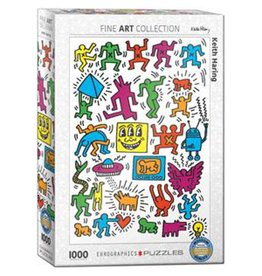 Eurographics Puzzle 1000mcx, Collage by Keith Haring