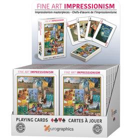 Eurographics Impressionism - Carte à Jouer