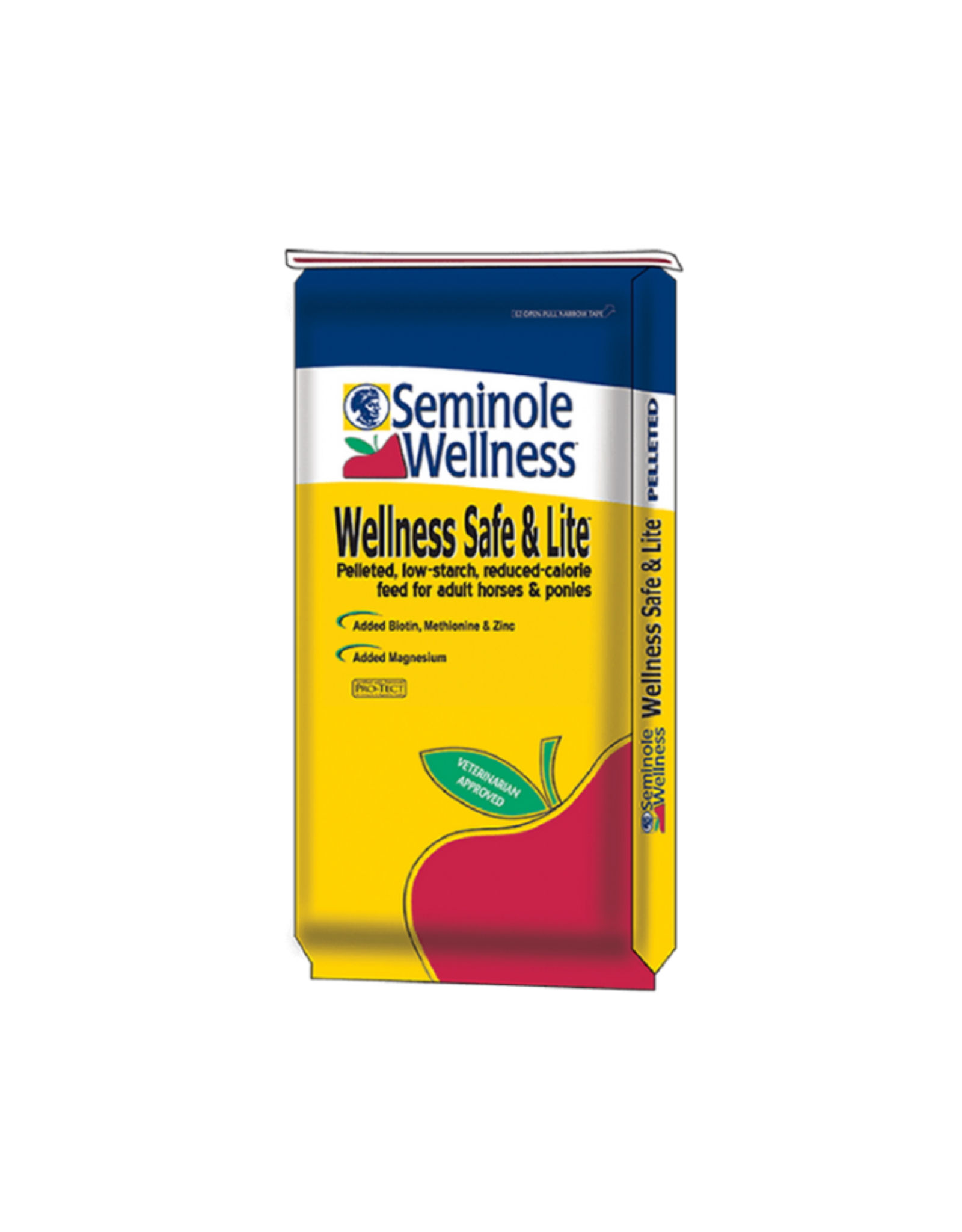 Seminole Feed 511 Wellness Safe & Lite Pellet (yellow).      10/3/26