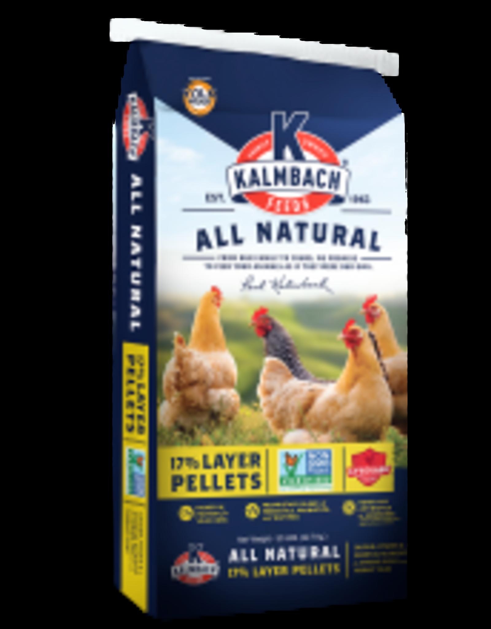Kalmbach N1117P Kalmbach Non GMO 17% Layer Pellet