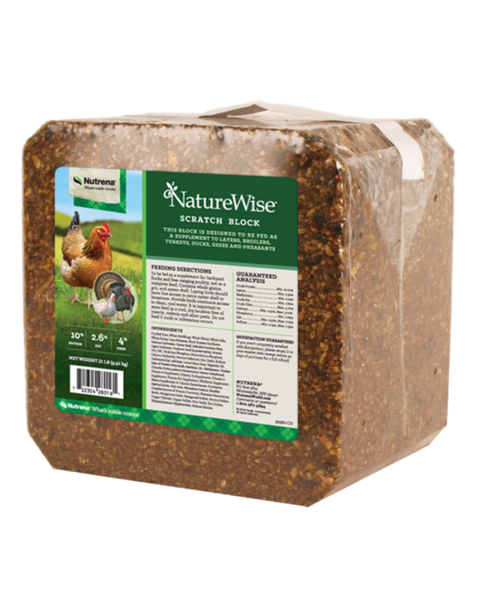 Cargill Nature Wise Scratch Block for Poultry