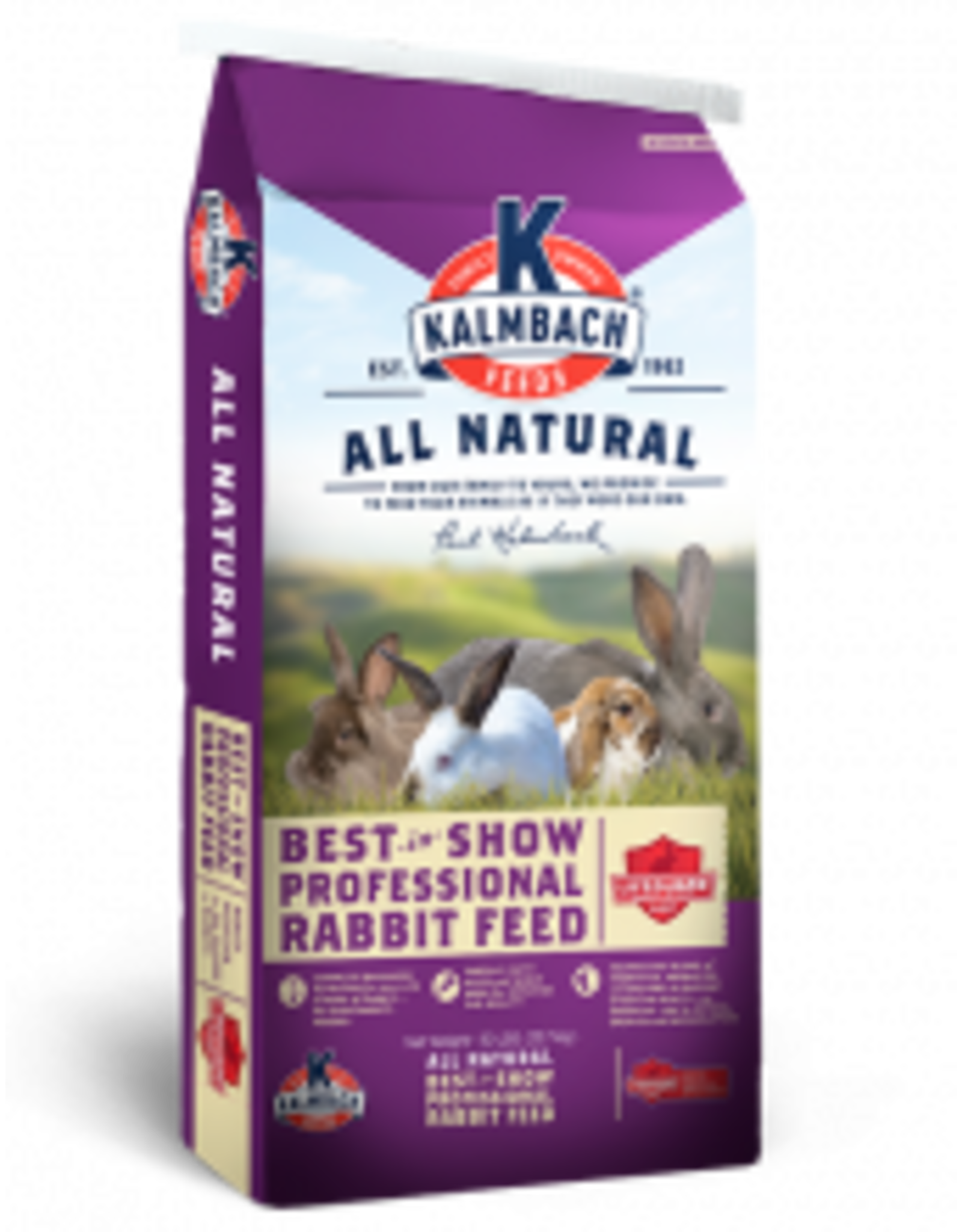 Kalmbach 800 Kalmbach 17% Best in Show  Rabbit