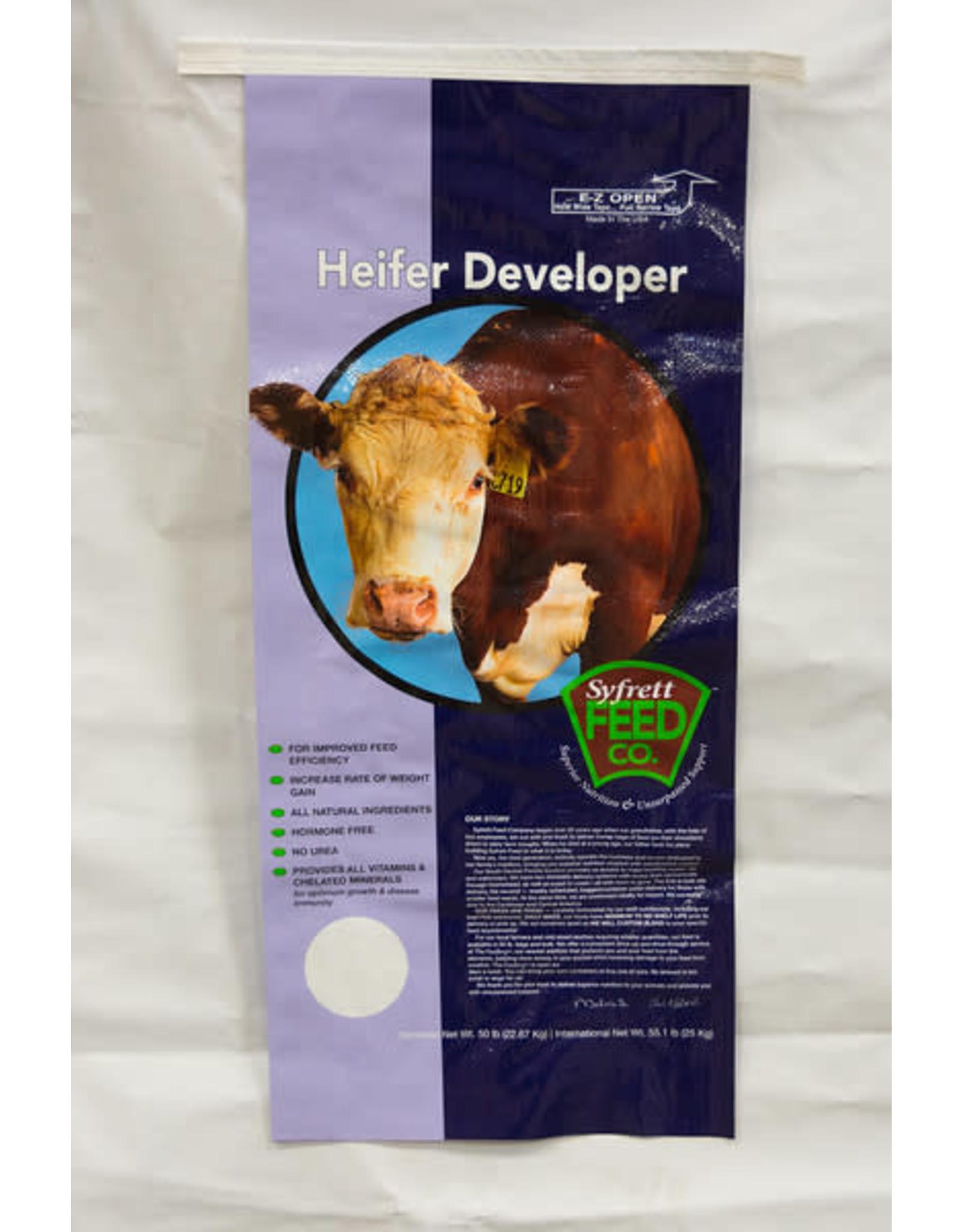 2-1190  Syfrett Heifer Developer 50#  14/2/18