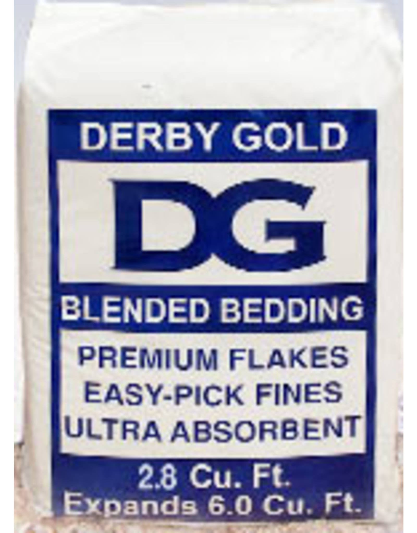 Derby Gold Blended, 6.0 CF (Blue Bag)