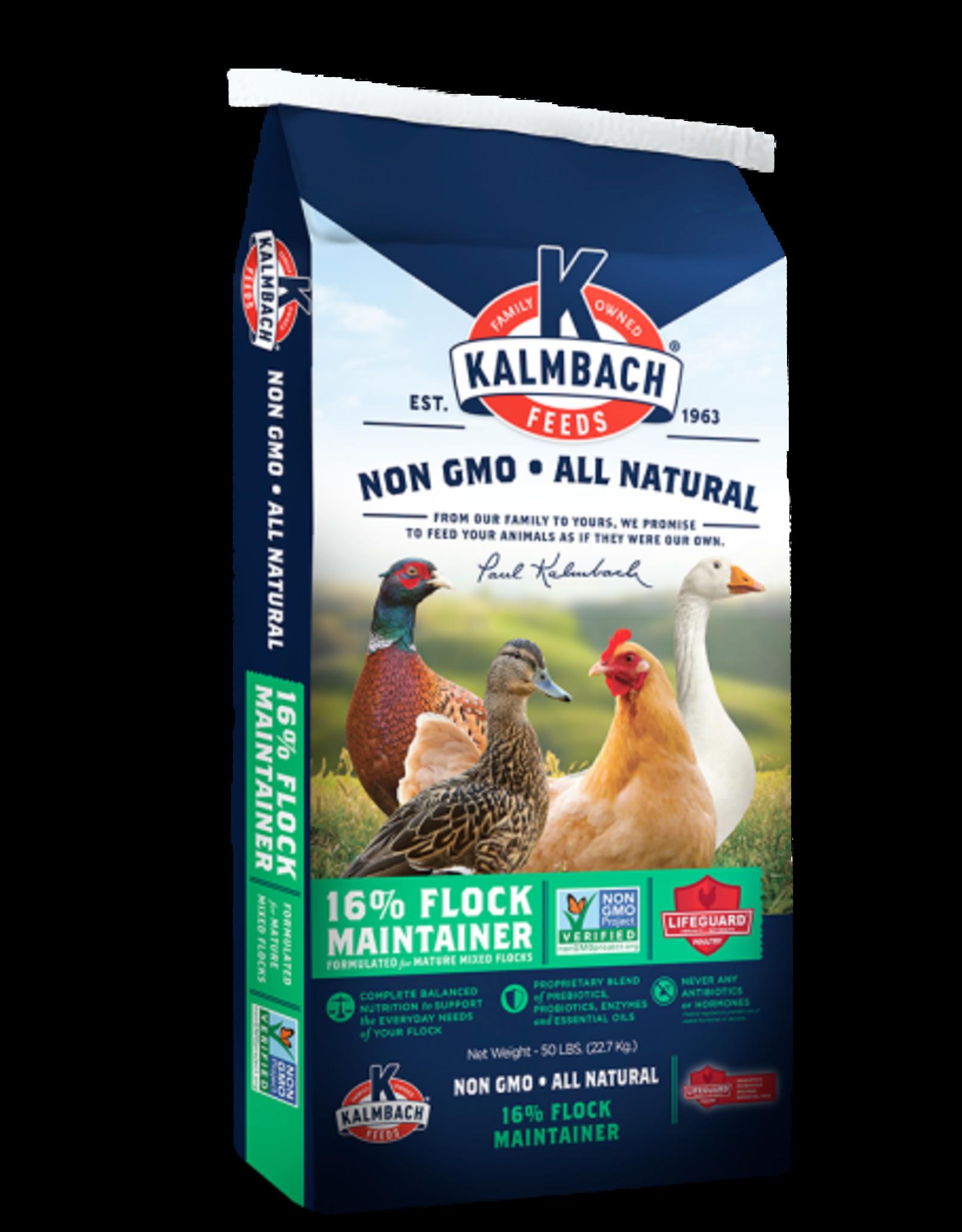 Kalmbach N1016P Kalmbach Non GMO 16% Flock Maintenance