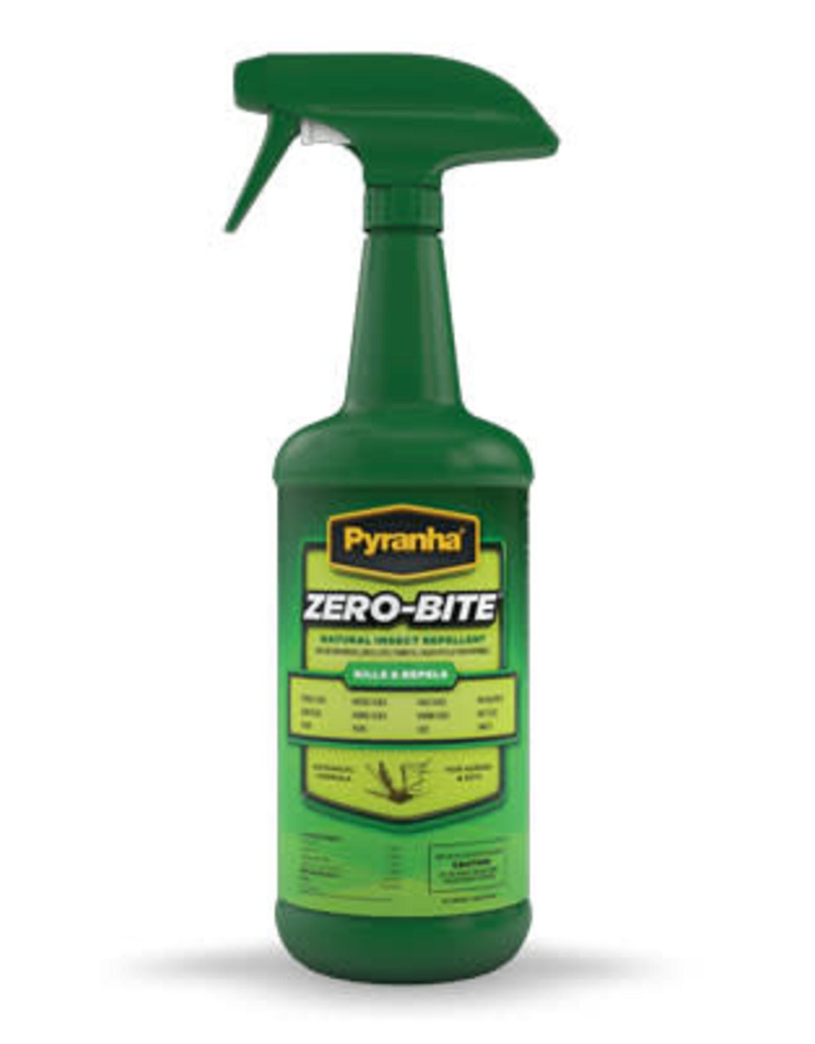 Pyranha Zero-Bite Natural Fly Spray 32ozNatural Fly Spray