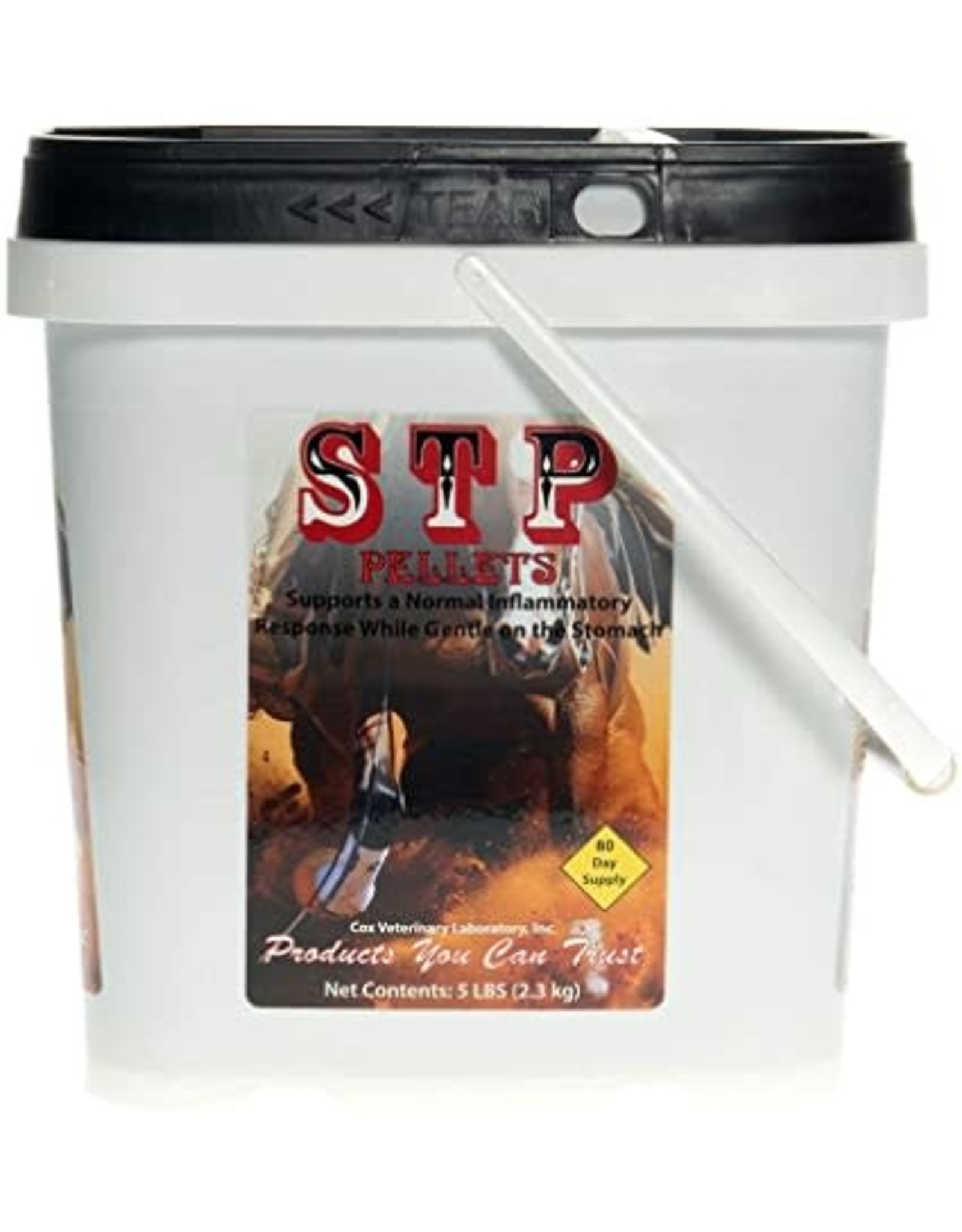 STP Stop The Pain Pellets 5lb  All Natural Pain Relief for Horses