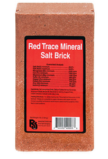 Red Trace Mineral Salt Block 4lb
