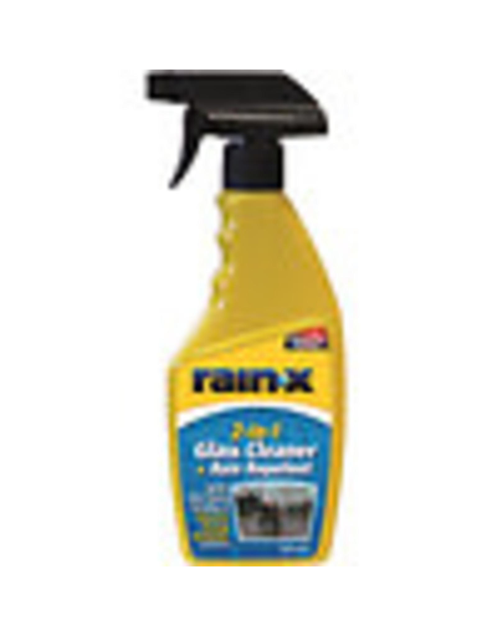 RAIN X GLASS CLEANER/TREATMENT