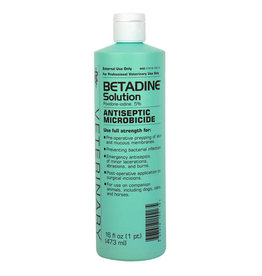 Betadine (Povidone Iodine) Solution 16oz