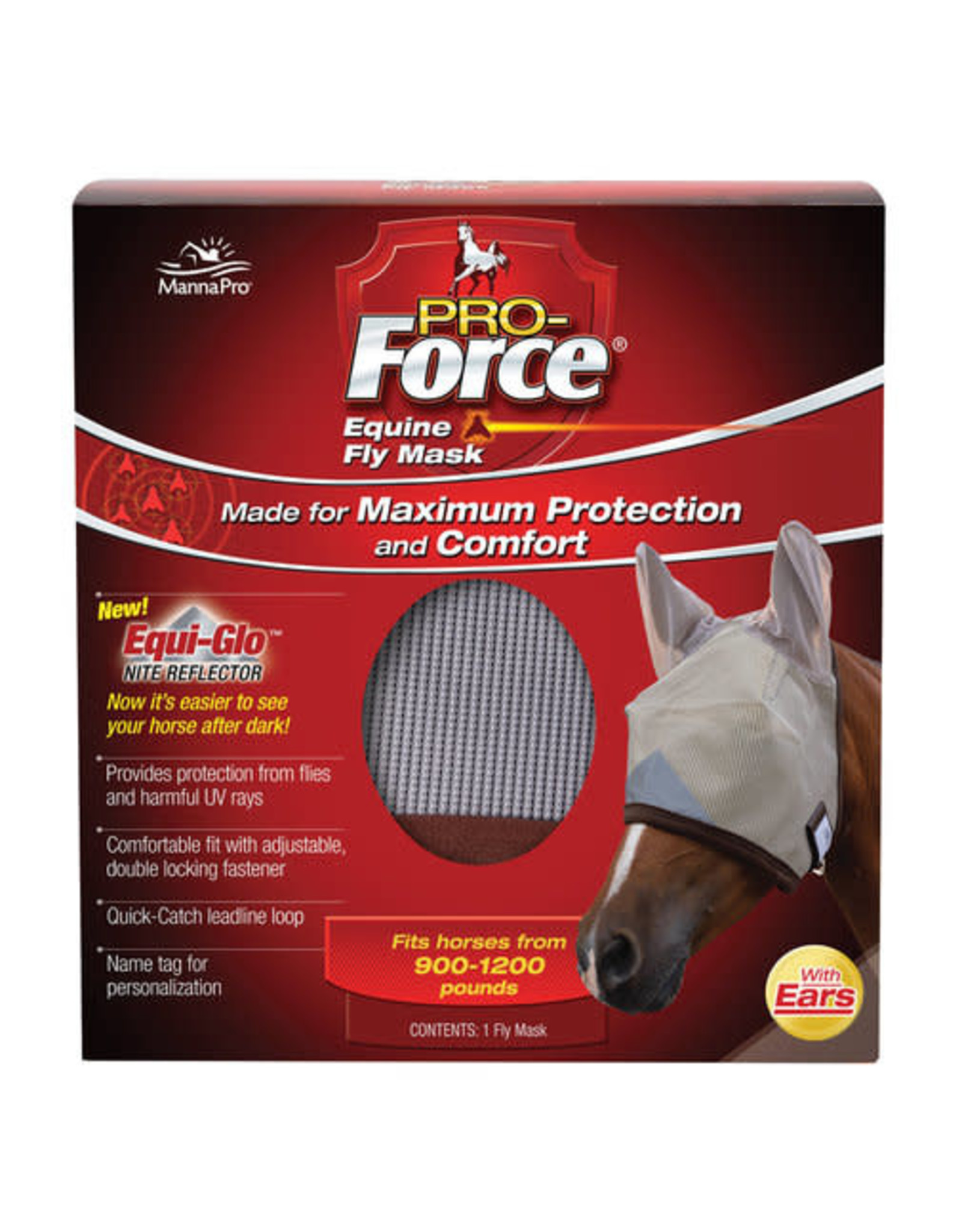 Pro Force Fly Mask with Ears