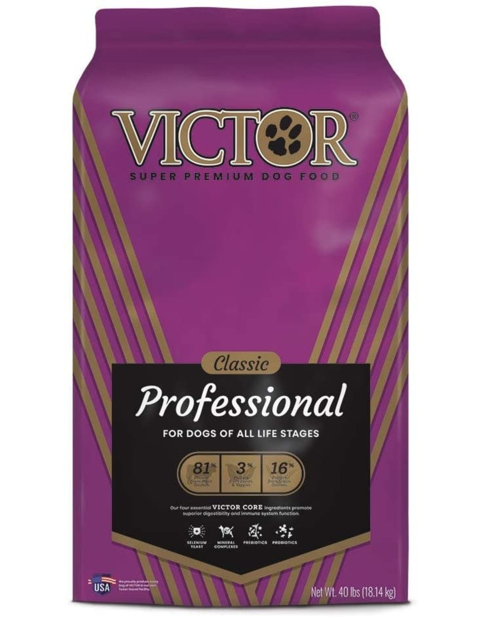 Victor Professional 40# Dog Food