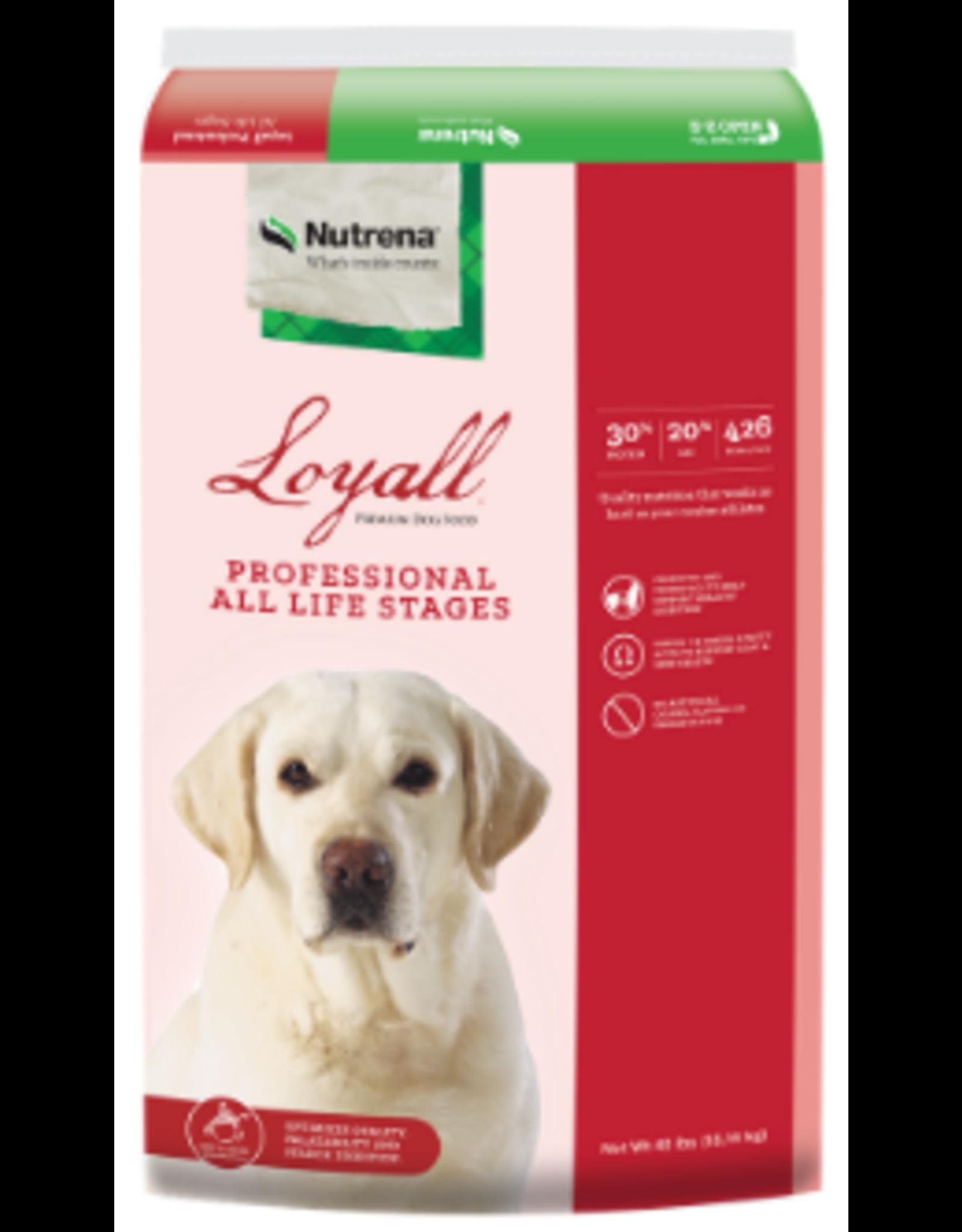 Loyall Professional Formula Dog Food 30-20 40lb