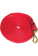 Partrade Poly Lead Rope Red