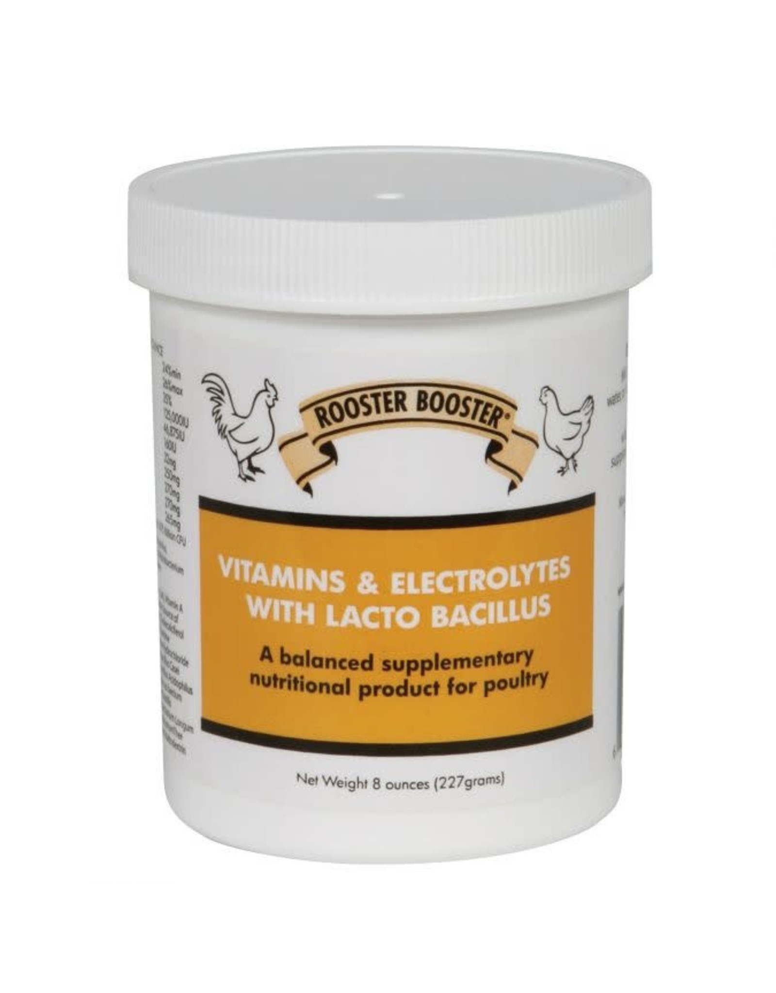 Rooster Booster Vitamins & Electrolytes and Probiotics 8oz