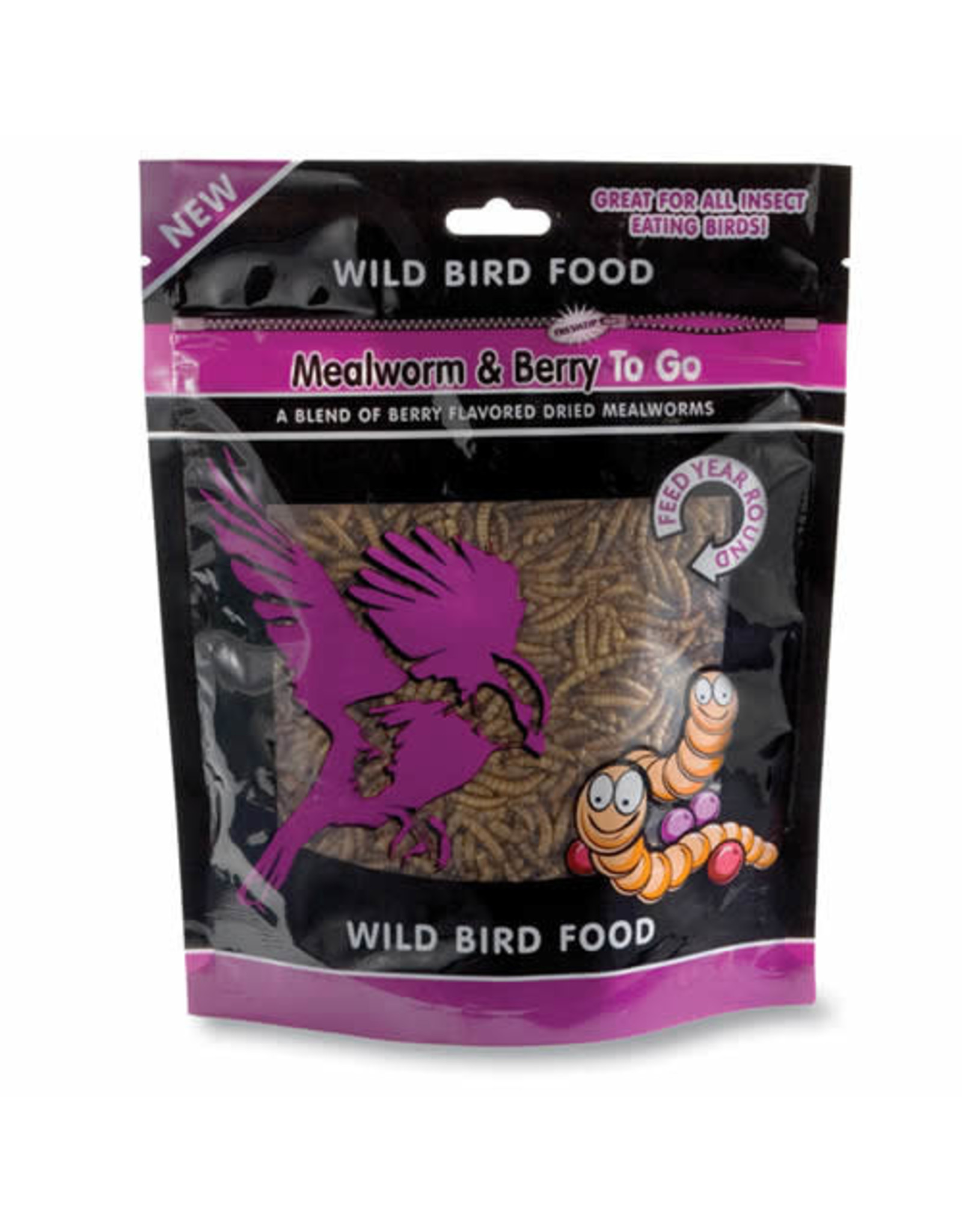 Mealworms & Berries To Go 3.5oz