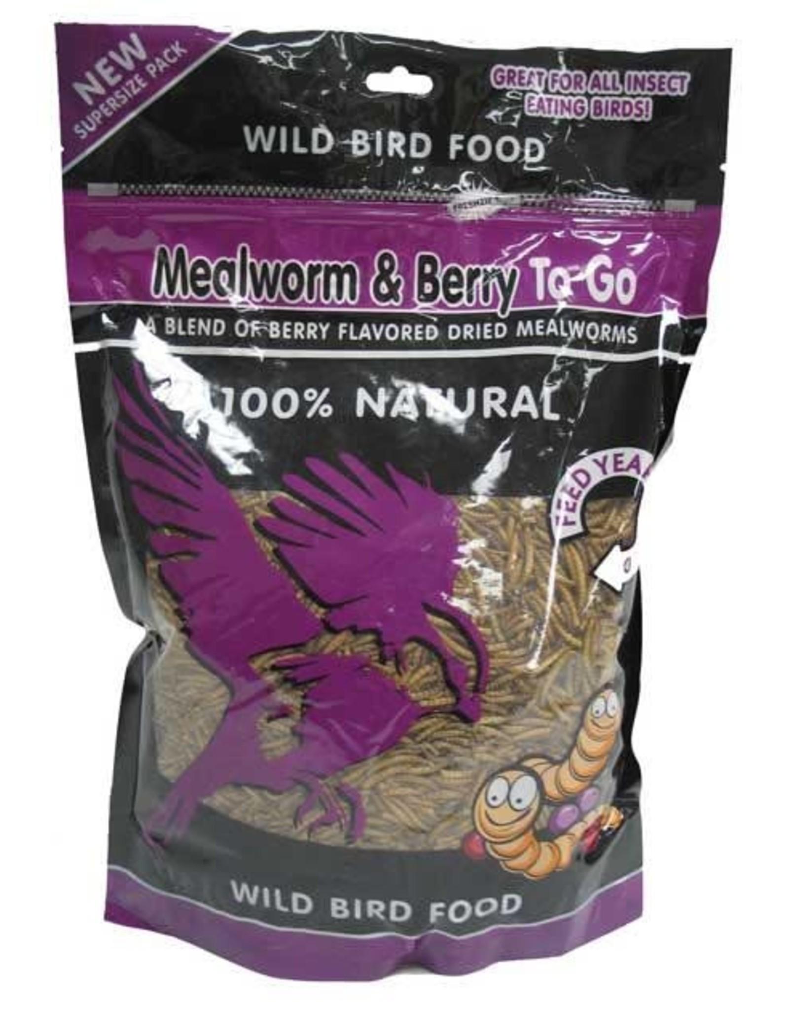 Mealworms & Berries To Go 17.6oz Ziplock