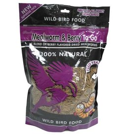 Mealworms & Berries To Go 17.6oz Ziplock