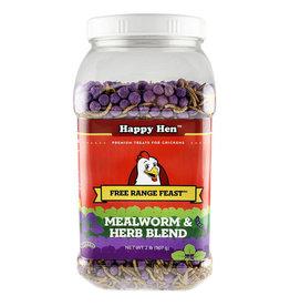 Free Range Feast Mealworm & Herb 2lb
