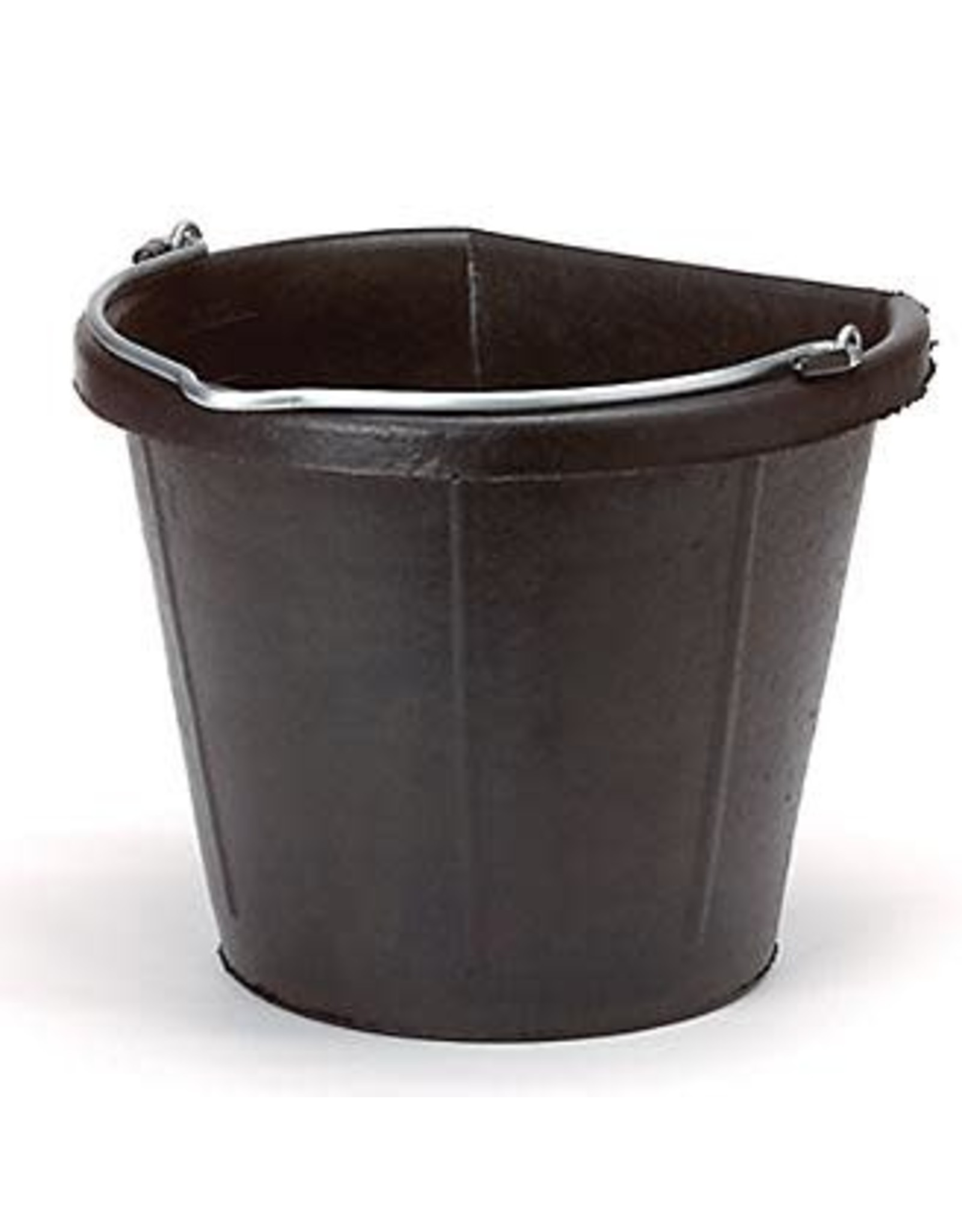Rubber Flat Back Bucket, 18QT