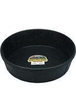 Black Rubber 3 Gallon Pan Feeder