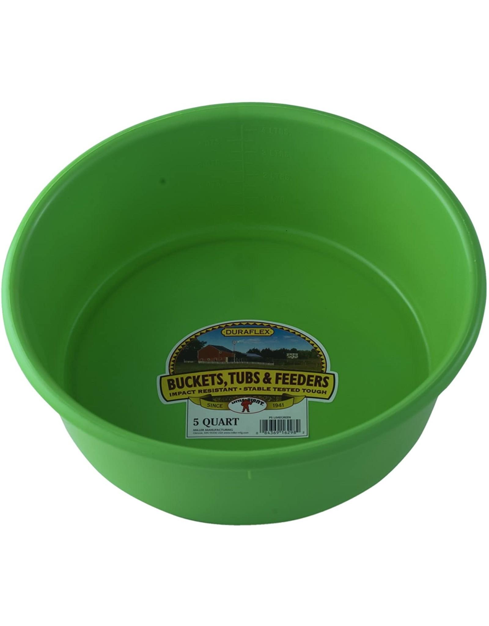 Plastic Pan Feeder 5 QT