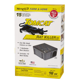 Tomcat Rat Killer II Refillable  Bromethalin