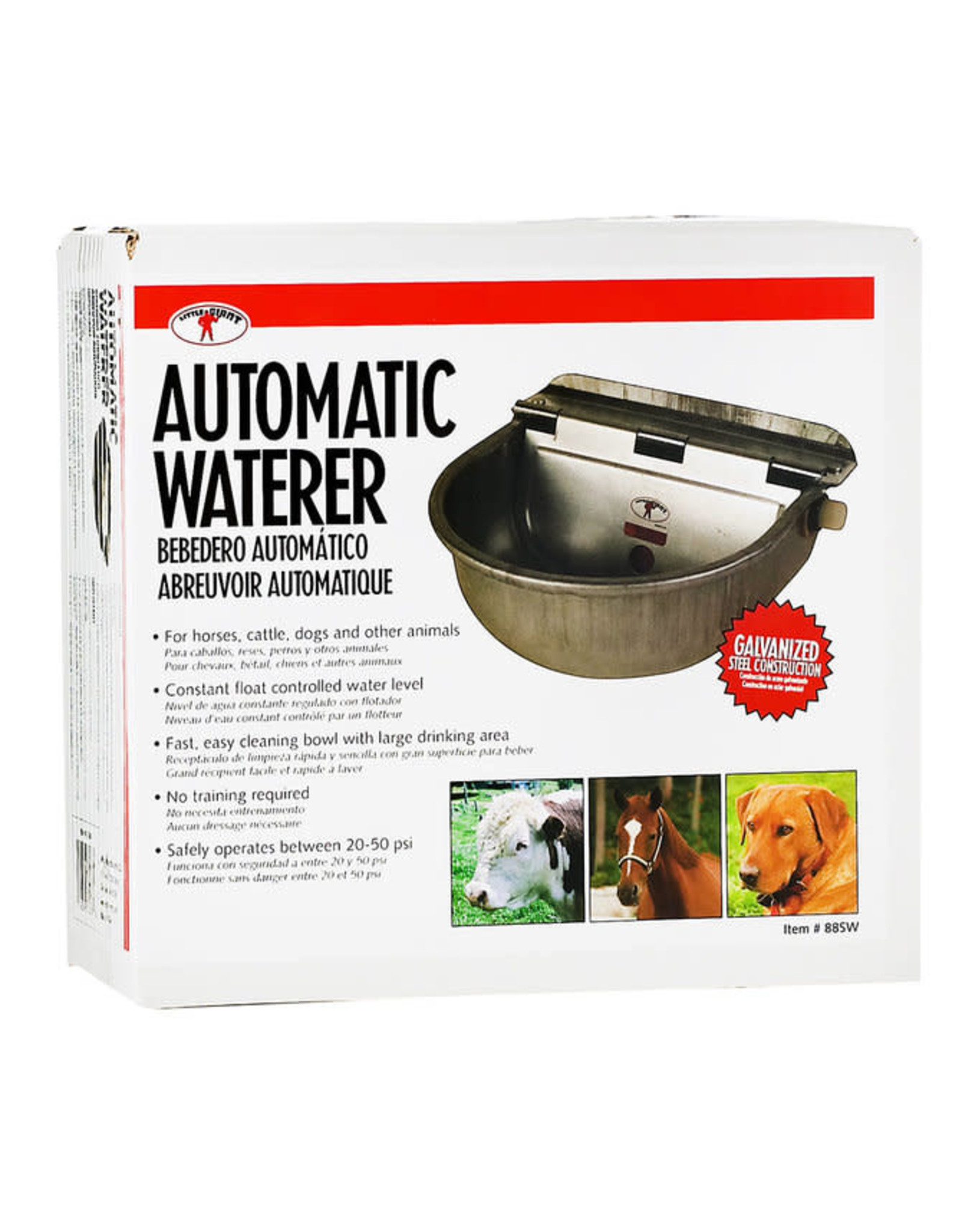 Automatic Stock Waterer Galvanized