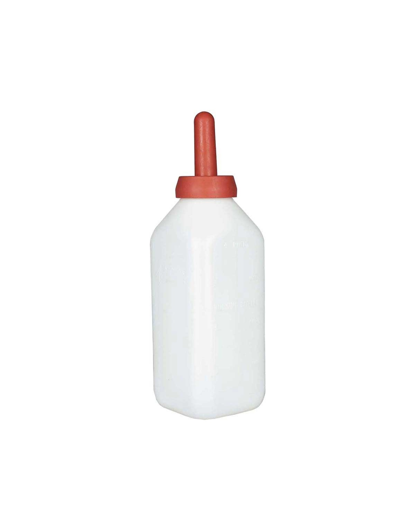 Calf Bottle with Snap On Nipple