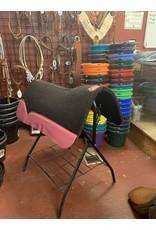 """Best Ever Saddle Pads Best Ever OG Black 3/4"""" Pink 30x30"""